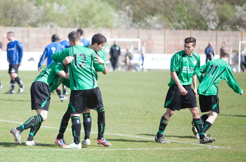 Action from the recent Green Thirds v Metro cup tie at Homelands