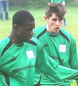 Joe Ogunbiyi and Connor Robbins ... superb in recent weeks