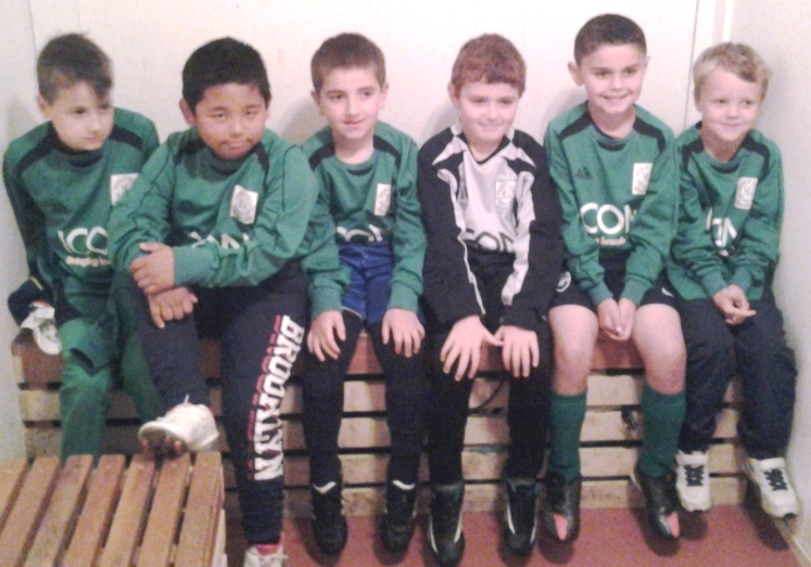 10.5.2014 The first-ever photo of our U8s