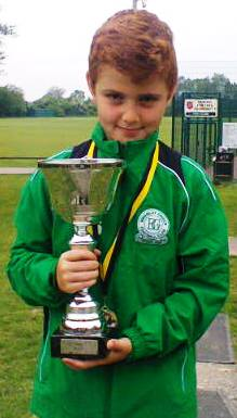 2015.05.23 U8s Player of Tournament at Kennington Adam