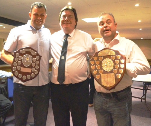 Congratulations to Martin and Shane who won the Chairmans Award and Clubman of the Year Award respectively
