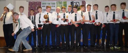 League winners U15s ... mind your back Shane!