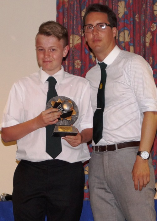 Congratulations to Joey Argar, U16s Managers Player