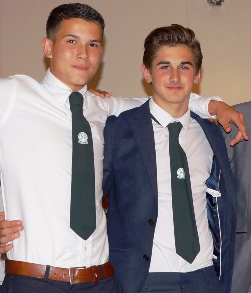 Miles and Connor who have represented the club admirably both on and off the field