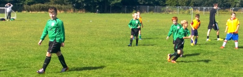 Igor and the U10s this morning at New Romney ... all the days news to follow