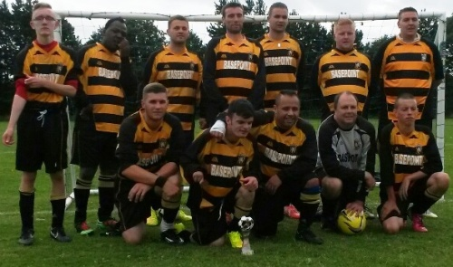 17.8.2014 BG Valiants Tournament1 winners Folkestone Invicta