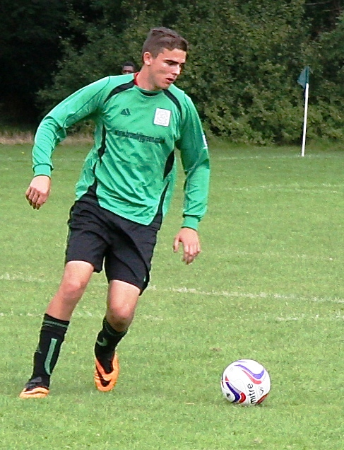 Martyn: who is excelling both in goal and on the field during pre-season