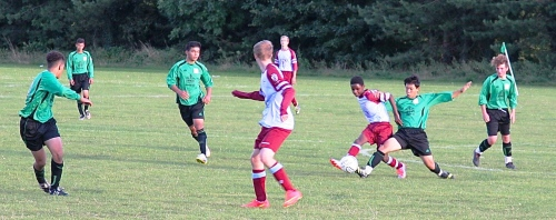 Another great action shot from Paul E Carter at last night's game