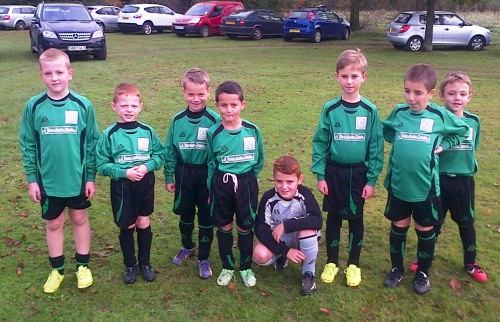 In great form last week, the Under 8s today are away on cup duty ... good luck and most importantly have fun!