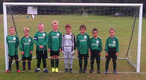 Bromley Green Under 8s sponsored by Key Auto Trade