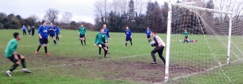 Grove keeper had a busy morning and made some fine saves