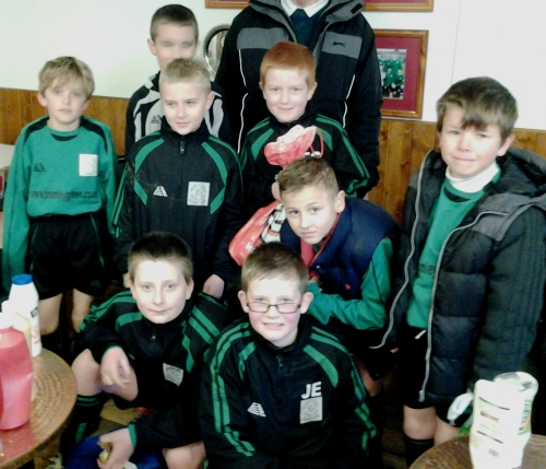 24.1.2015 U10s Oliver, Coleton, Callum, Elliott, Freddie, Toby, Igor, Jake ... well played boys!