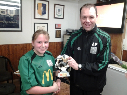 Keeley is our McDonalds Player of the Match