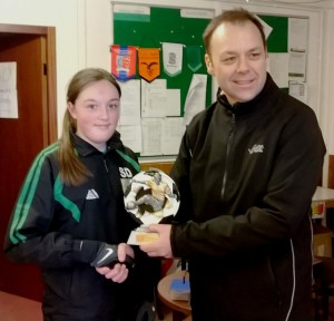 Player of the Match Shannon