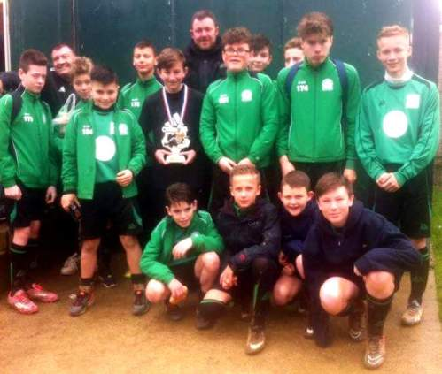5-1 winners in the only U13 game played on Saturday