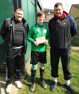 Ollie is our Player of the Match after a hard fought  tussle at Tenterden