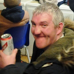 Steve celebrates last weekend's results