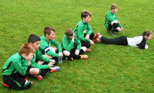 Tense moments at the Wye Tournament ... see the photo slideshow on the main Home Page