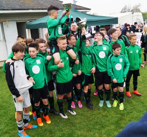 Cup winners in the morning