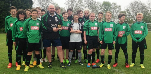 Respect Award winners: the U13 Colts who resume training this morning