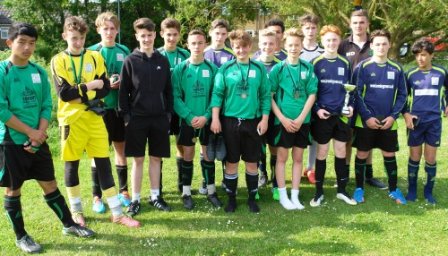 The Green provided both finalists in the U16 section