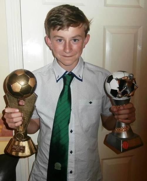 Charlie won two major awards