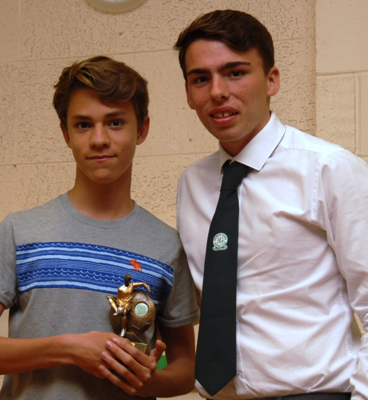 U13 Colts Best Trainer Ben Tinker