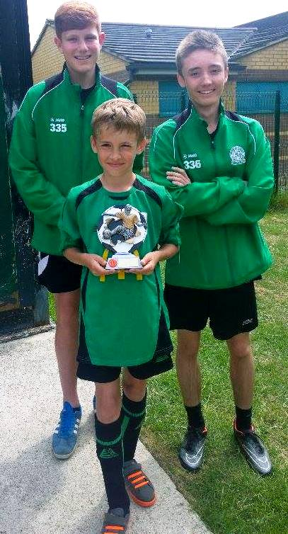 U10s McDonalds star with Seb and Sam ... well done!