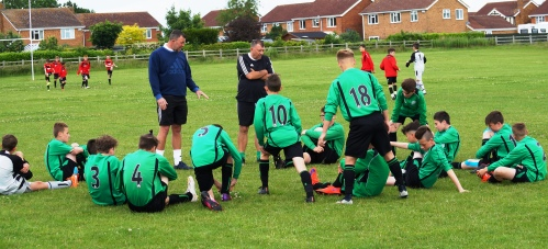 2015.06.20 U13s at Lutterworth and Harborough Town FC [9y]