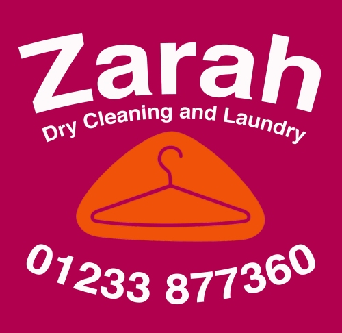 The Elwick Road Dry Cleaning and Laundry specialists who are the new sponsors for the Green Under 11s