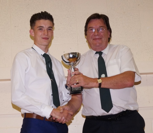 Tom Messenger and the Waterside 6-a-side wnners Cup