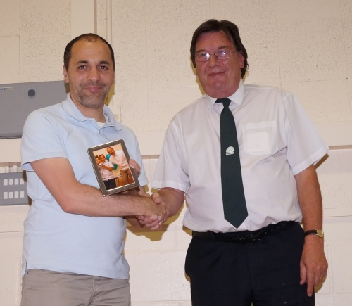 A small thank you to Guido who is determined to help the club build for future success