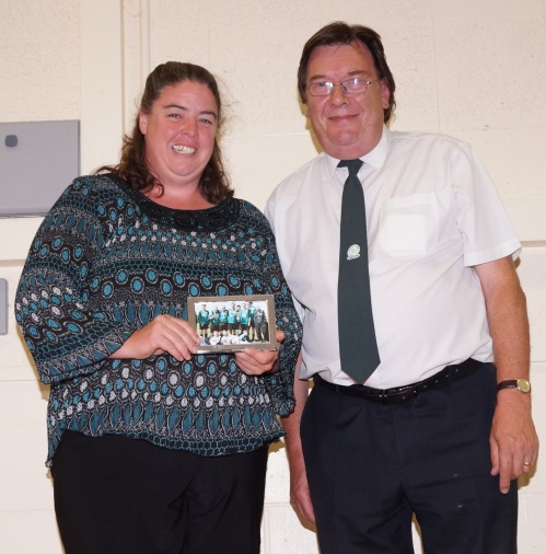 The work of one of our brilliant admin ladies, Leah-Ann, is recognised
