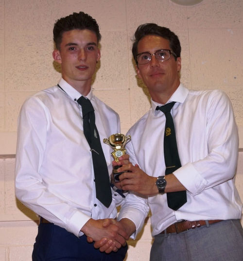 Merit Award goes to Tom Messenger