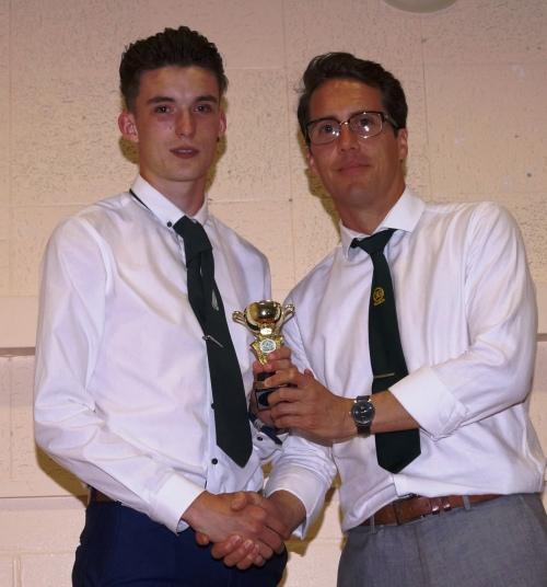 Merit Award goes to Tom Messenger