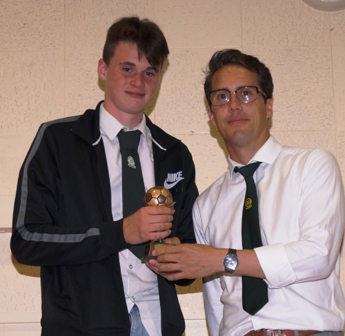 Well done Joe! U15s Most Improved Player