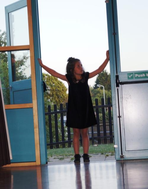Chelsea guards the door!