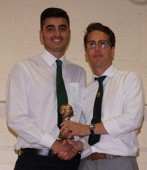 Saturday Seniors Most Improved Player: Josh Ahmad