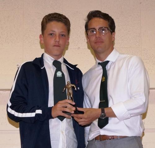 Billy Gramson : Best Trainer [U15s]