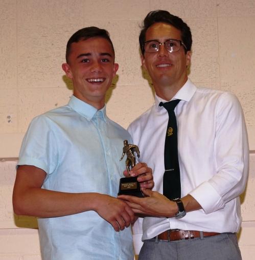 James Cambridge: Best Trainer [U16s]