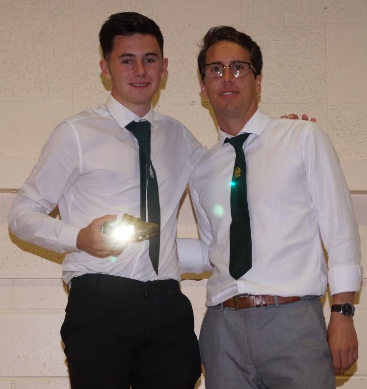 Sunday Seniors Endeavour Award: Callum Monaghan