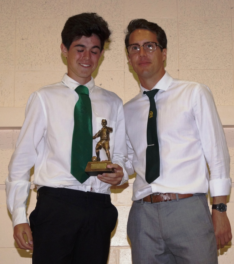 U15s Managers Player: Tommy Lockett