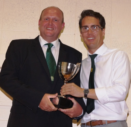 Double Valiants Adults winners ... well done Phil!