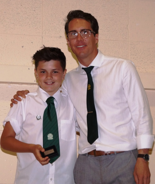 The Youth Enterprise Award goes to Zac Cowley