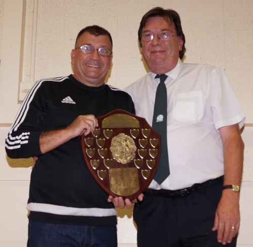 The Bill Mickelborough Award for Clubman of the Year goes to Ian Mace