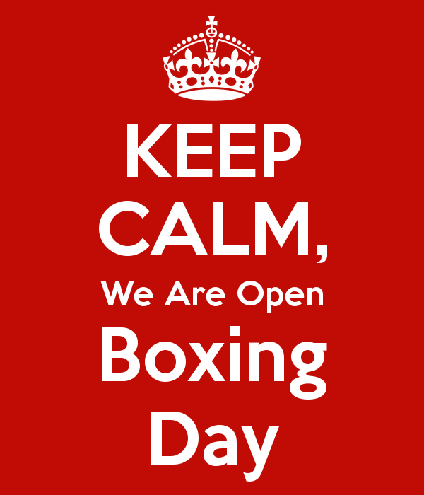 Keep Calm We Are Open Boxing Day Bromley Green Football Club
