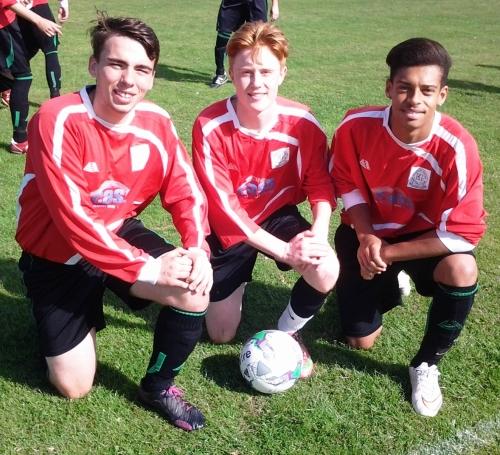 Ryan, James and Ryan ... three likely lads