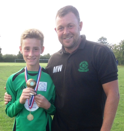 Billy is our Player of the Match at Biddenden