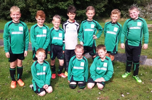 The U9s who enjoyed an 11-goal spectacular this morning with Grasshoppers [sorry, we are not allowed to give results or goalscorers]