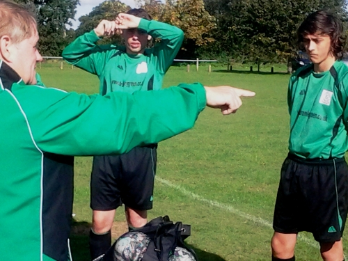 Pre-match talk yesterday: Dave Andrews with Ryan Ford and Carl Levett who both notched superb goals. Go to the Match Results 2015-16 tab for Callum Monaghan's summary.